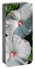 Dish Flower Portable Battery Charger