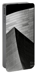 Disney Concert Hall Black And White Portable Battery Charger