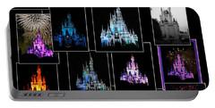 Disney Magic Kingdom Castle Collage Mp Portable Battery Charger