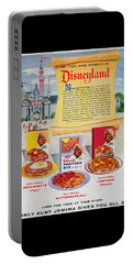 Disneyland And Aunt Jemima Pancakes  Portable Battery Charger
