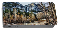 Distance Falls Portable Battery Charger by Chuck Kuhn