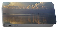 Portable Battery Charger featuring the photograph Distant Thunder by HH Photography of Florida