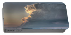 Distant Thunderstorm Portable Battery Charger