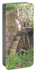 Disused Water Wheel Portable Battery Charger