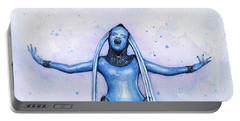 Diva Plavalaguna Fifth Element Portable Battery Charger by Olga Shvartsur