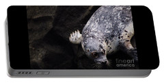 Portable Battery Charger featuring the photograph Diving In Head First by Nick Gustafson