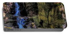 Dixville Notch Flume Brook Portable Battery Charger