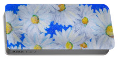 Dizzy Daisies Portable Battery Charger