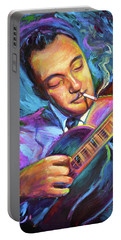 Django Reinhardt  Portable Battery Charger