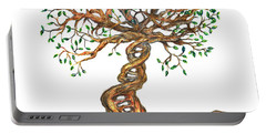 Dna Tree Of Life Portable Battery Charger