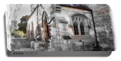 Portable Battery Charger featuring the photograph Do-00116 Church In Morpeth by Digital Oil