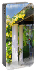 Portable Battery Charger featuring the photograph Do-00137 Yellow Roses by Digital Oil