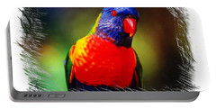 Do-00153 Colourful Lorikeet Portable Battery Charger