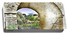 Portable Battery Charger featuring the photograph Do-00262 Richmond Bridge by Digital Oil
