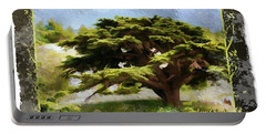 Do-00318 Cedar Barouk - Framed Portable Battery Charger