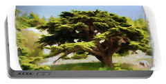 Do-00319 Cedar Tree Portable Battery Charger