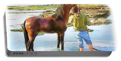 Do-00421 Washing Horse In Mina Portable Battery Charger
