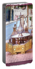 Portable Battery Charger featuring the photograph Do-00456 Artisanat Collection by Digital Oil