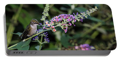 Portable Battery Charger featuring the photograph Do You Mind by Judy Wolinsky
