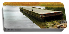 Dock And Marsh Portable Battery Charger by Tom Singleton