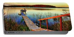 Dock At Gawas Bay Portable Battery Charger