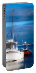 Portable Battery Charger featuring the photograph Docked And Quiet by Kendall McKernon