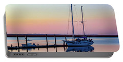 Docked On Jekyll Island Portable Battery Charger