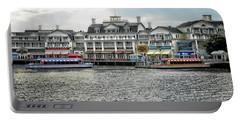 Docking At The Boardwalk Walt Disney World Mp Portable Battery Charger