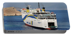 Docking Ferry On Halki Portable Battery Charger