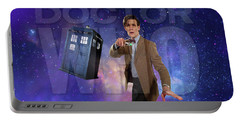 Doctor Who Portable Battery Charger by Pat Cook