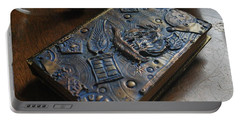 Doctor Who Steampunk Journal  Portable Battery Charger