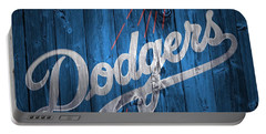 Dodgers Barn Door Portable Battery Charger