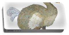 Dodo Bird Protrait Portable Battery Charger