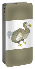 Dodo Bird Protrait Portable Battery Charger