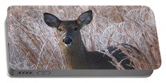 Doe In Winter Portable Battery Charger