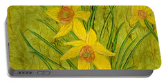 Daffodils Too Portable Battery Charger