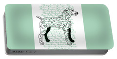 Dog Breeds Portable Battery Charger