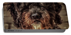 Portable Battery Charger featuring the photograph Dog  by Cliff Norton