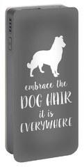 Dog Hair Portable Battery Charger