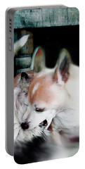 Dog Love Art 3 Portable Battery Charger