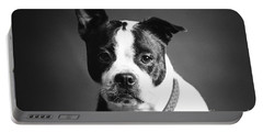 Dog - Monochrome 1 Portable Battery Charger