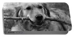 Dog - Monochrome 4 Portable Battery Charger