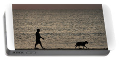 Dog Walker Dawn Delray Beach Florida Portable Battery Charger