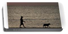 Dog Walker Dawn Delray Beach Florida Portable Battery Charger
