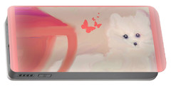 Portable Battery Charger featuring the digital art Doggie Art  My Love by Sherri Of Palm Springs