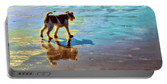 Doggone Beachy Day Portable Battery Charger