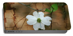 Dogwood Bloom Portable Battery Charger by Cathy Harper