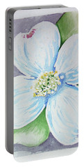 Dogwood Bloom Portable Battery Charger