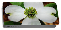 Dogwood Blossom Portable Battery Charger