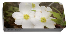 Dogwood Blossom Trio Portable Battery Charger